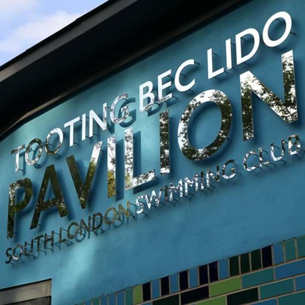 Tooting Bec Lido Pavilion