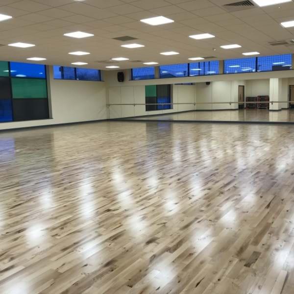 Gosport Leisure Centre studio