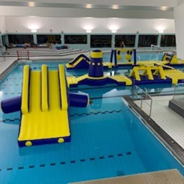 Fairfield Leisure Centre inflatable course