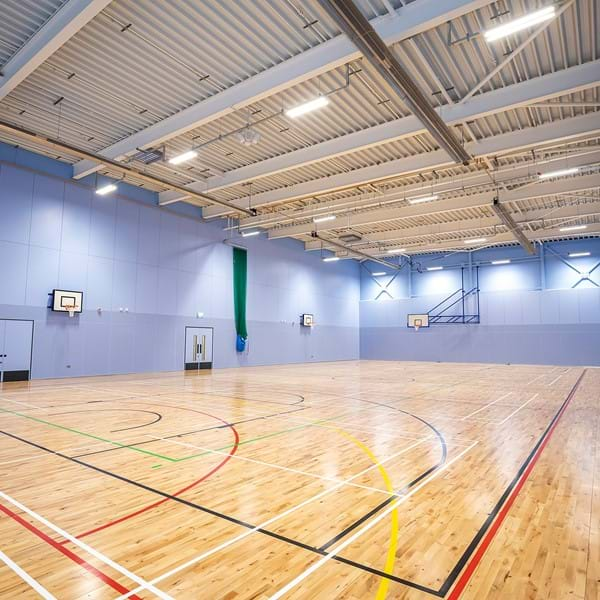 Bulmershe Leisure Centre sports hall