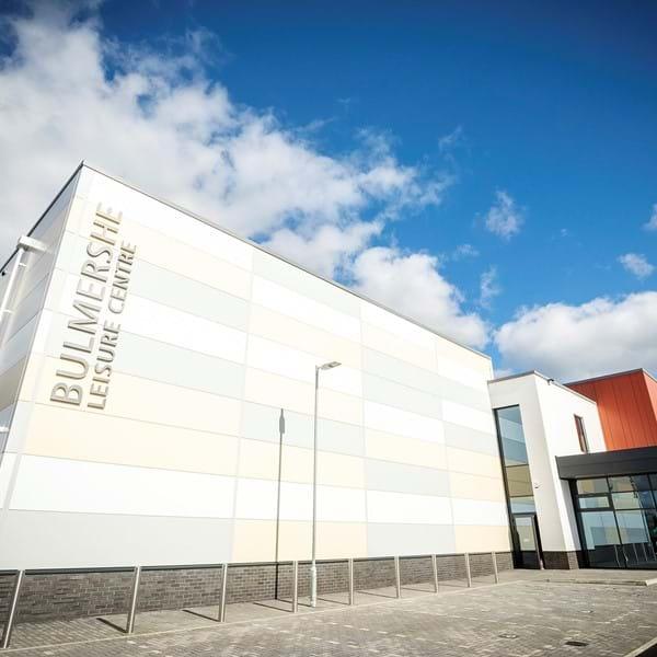 Bulmershe Leisure Centre exterior
