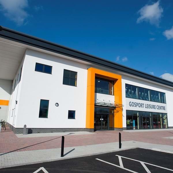 Gosport Leisure Centre external