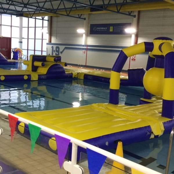 Strode Leisure Centre inflatables