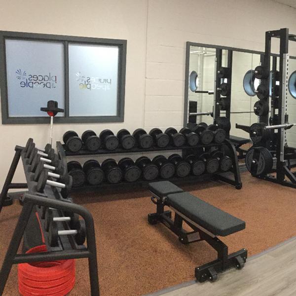 Strode Leisure Centre gym