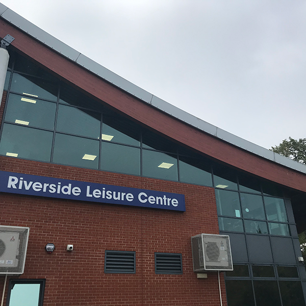 Riverside Leisure Centre exterior