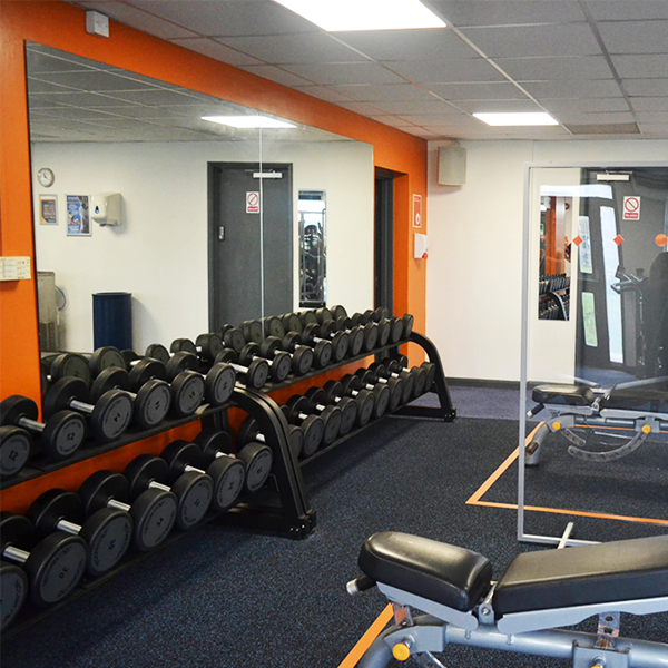 Lime Kiln Leisure Centre gym
