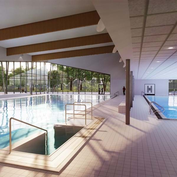Places Leisure Camberley pool