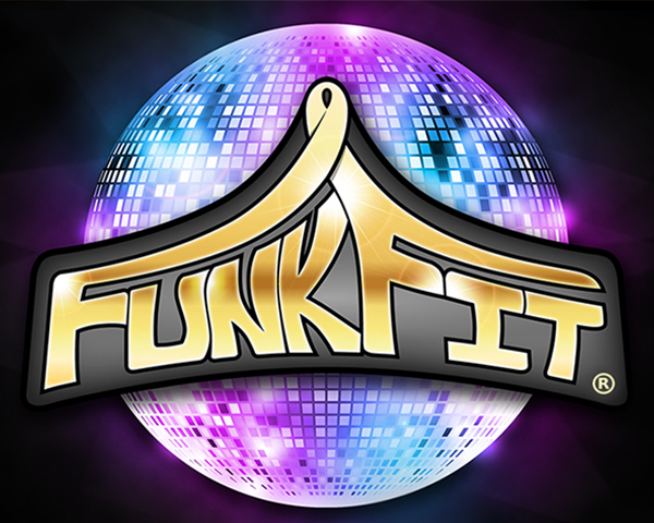 funkfit logo and partnership with places leisure