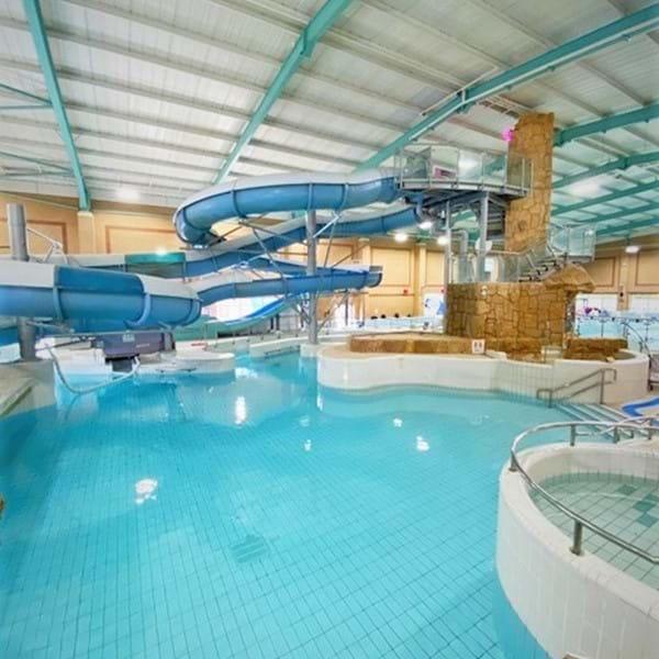 The Triangle leisure pool